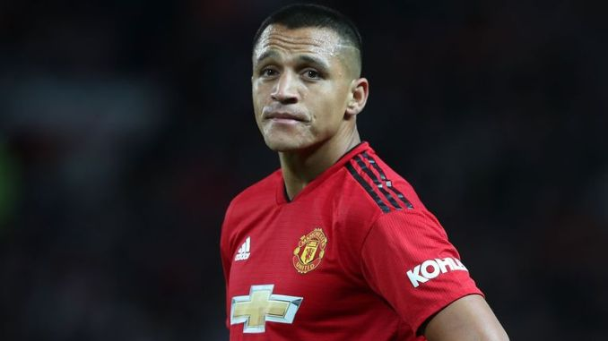 Alexis Sanchez left Manchester United with only five goals in 45 appearances
