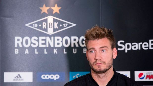 Nicklas Bendtner was accused of a violent attack on Sunday morning