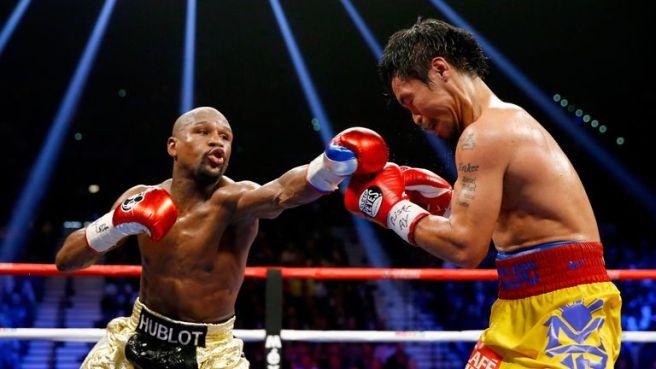 Boxe: Floyd Mayweather annonce la date de son combat contre Manny Pacquiao (vidéo)