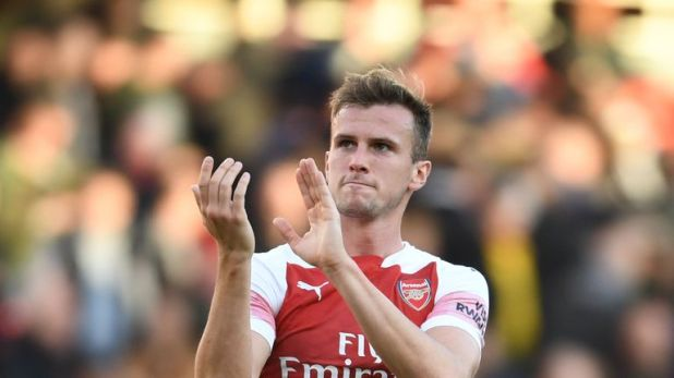 Rob Holding started nine Premier League games in a row after failing to feature in their first five matches