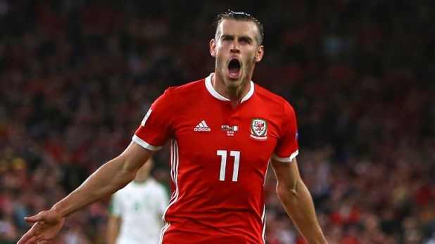 Gareth Bale helped to condemn Ireland to a heavy defeat in Wales last month