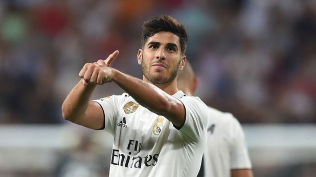Real Madrid attacker Marco Asensio is seen as a future star of the Spanish national team