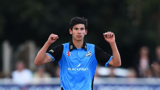 Worcestershire youngster Pat Brown is the leading wicket-taker in the 2018 Blast