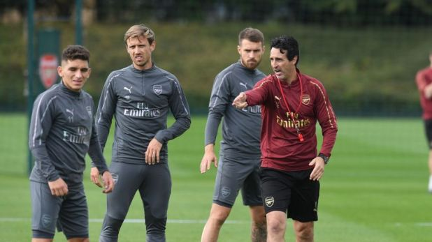 The Gunners went 20 games unbeaten under Emery after drawing with Manchester United