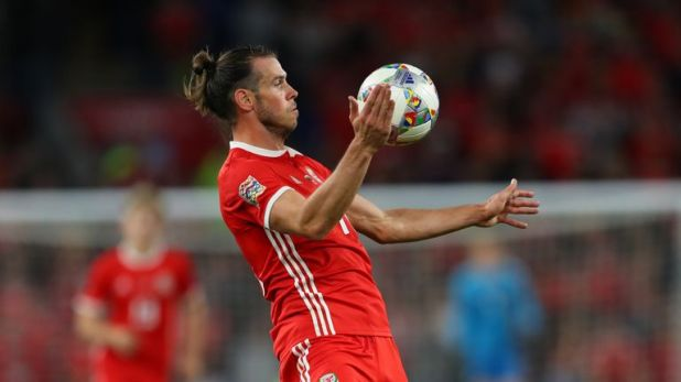 Bale missed Wales' defeat to Spain and returned to Madrid on Sunday