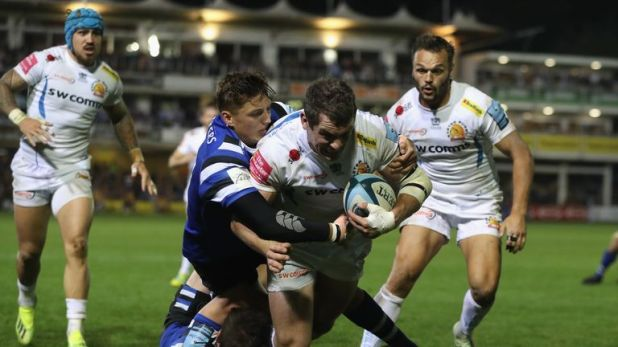 Exeter will travel back to Sandy Park and host Munster next week in the Heineken Champions Cup