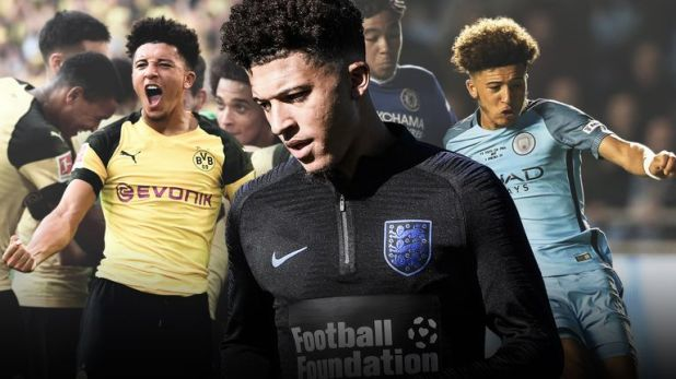 Jadon Sancho is in line for his England debut