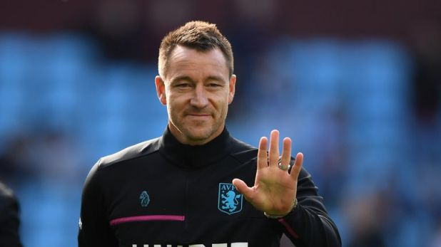 John Terry is now an assistant coach at Aston Villa