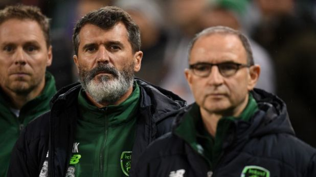 Ireland have not won a competitive game in over a year under Roy Keane (left) and Martin O'Neill