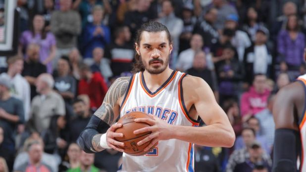New Zealand native Steven Adams is a game-time decision against Golden State