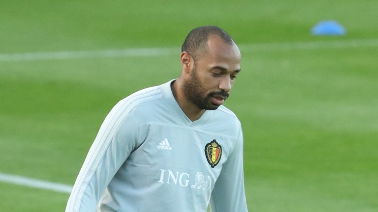 Thierry Henry is currently Belgium assistant manager