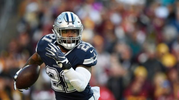 Ezekiel Elliott leads the Dallas Cowboys attack as they host the Titans on Monday Night Football