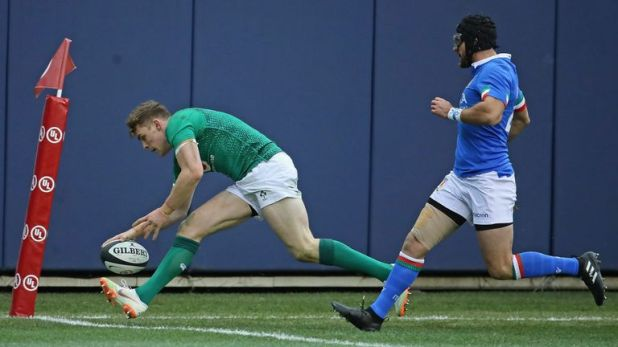 Garry Ringrose started against Italy last week but misses out this week due to a minor injury