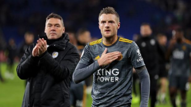 Jamie Vardy is among those raising money for the club's late owner