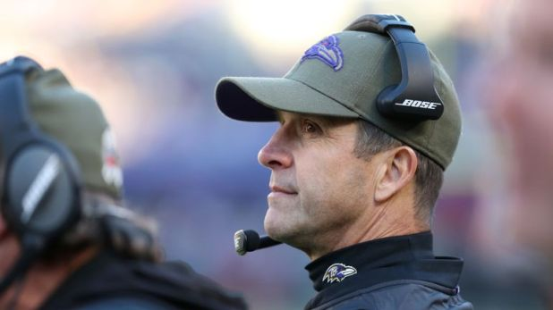 Reports emerged John Harbaugh is on the hot seat after a divisional loss on Sunday