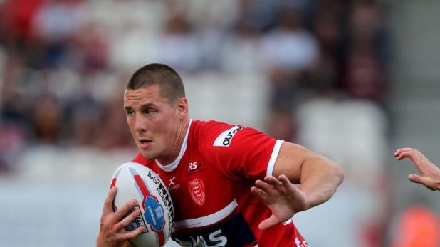 Hull KR forward Joel Tomkins was treated for concussion in hospital