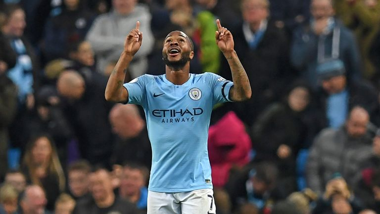 Raheem Sterling is in fine form for Manchester City
