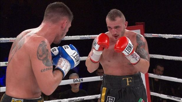 Turchi delighted the home crowd