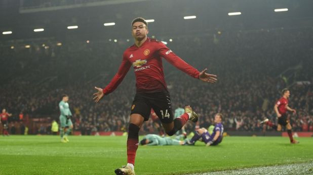 Arsenal took the lead at Old Trafford but allowed Jesse Lingard to equalise instantly