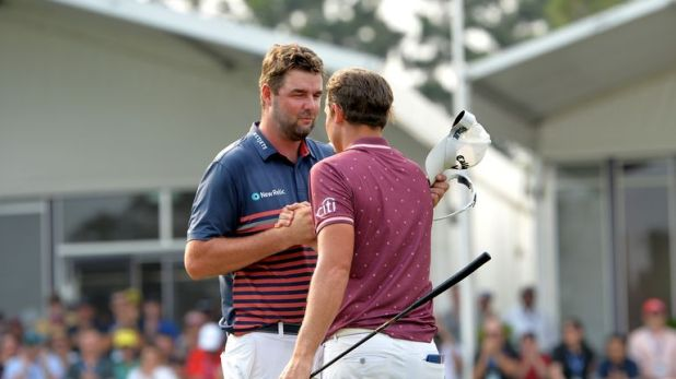 Smith beat his fellow Australian Marc Leishman by two shots