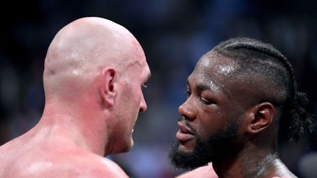 WBC champion Deontay Wilder is willing to grant Tyson Fury a rematch
