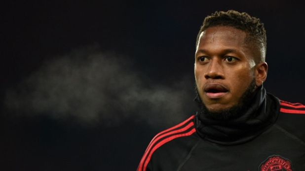 Fred has complained about his lack of playing time at Old Trafford