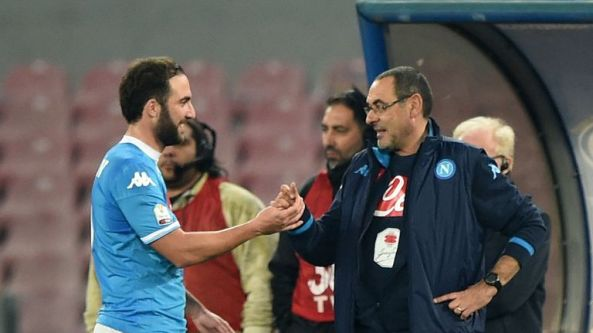 Image result for higuain sarri