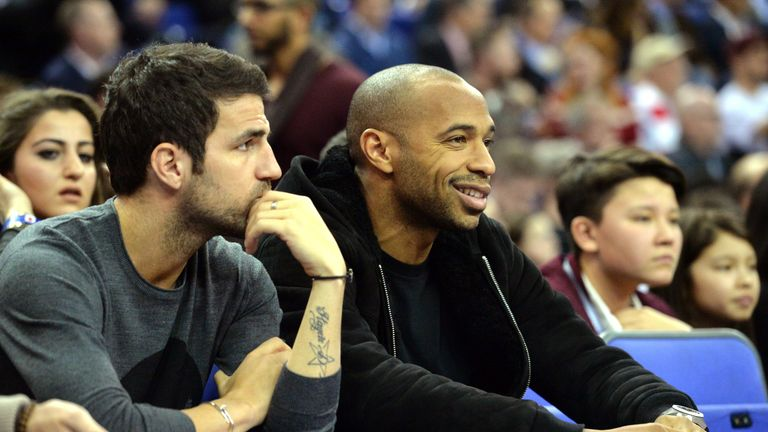 Chelsea midfielder Fabregas will reunite with former team-mate and Monaco manager Thierry Henry