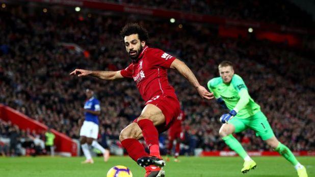 Mohamed Salah failed score in the Merseyside derby