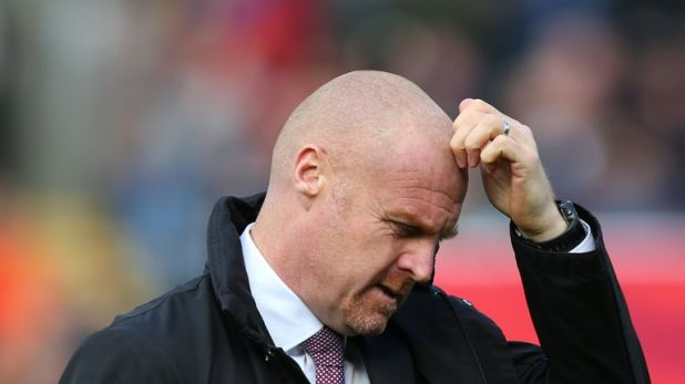 Dyche has been disappointed with Burnley's effort levels at times this season