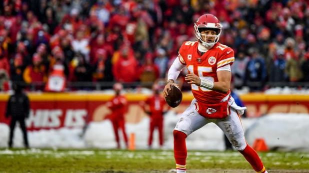 Patrick Mahomes and the Kansas City Chiefs will host the AFC Championship game next weekend