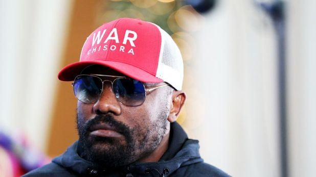 Derek Chisora wants to continue his career after loss to Dillian Whyte in December