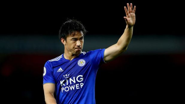 Shinji Okazaki has failed to score in 169 minutes of Premier League action this season