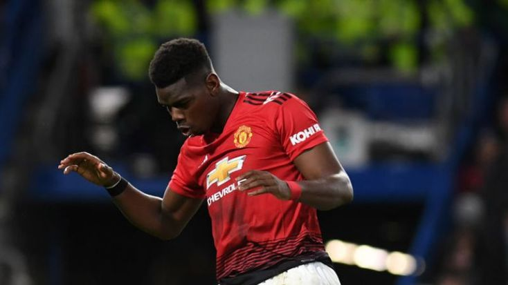 Paul Pogba continued his rich vein of form by scoring United's second having set up the first