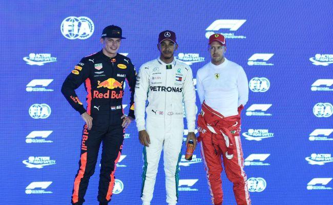 Lewis Hamilton Sebastian Vettel Fear Verstappen Most Say