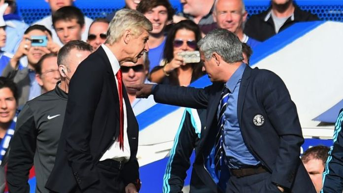Arsene Wenger and Jose Mourinho had a heated rivalry during their careers, and Mourinho once described Wenger as