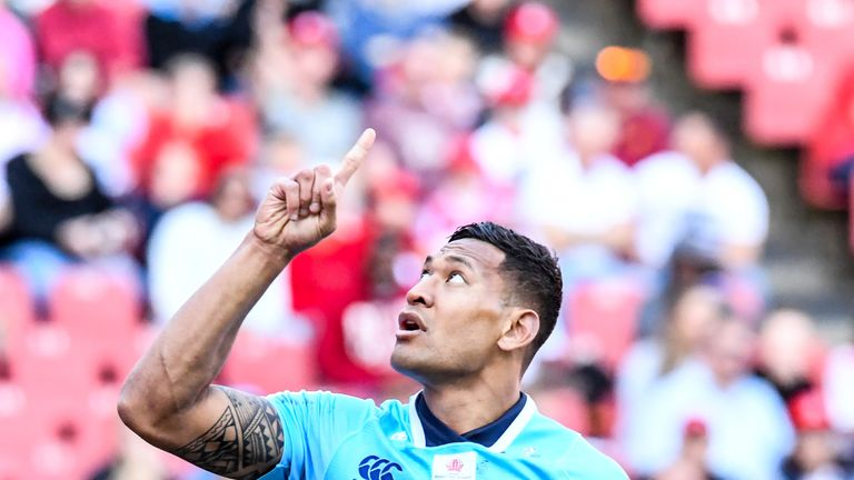 Israel Folau S Rugby Australia Contract To Be Terminated
