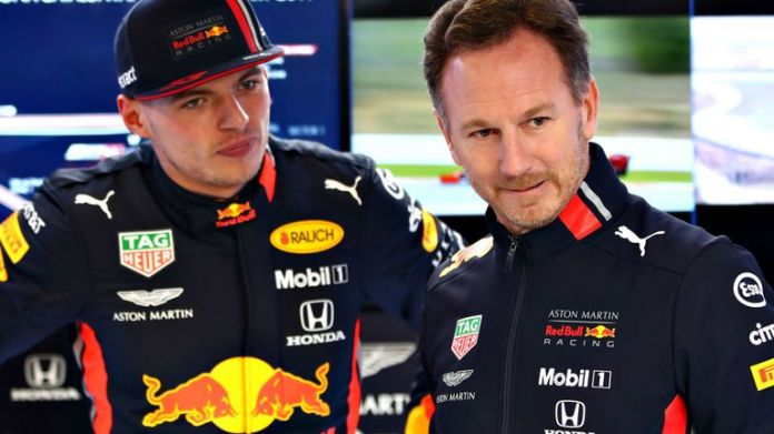 Max Verstappen and Christian Horner had a more fruitful day for Red Bull