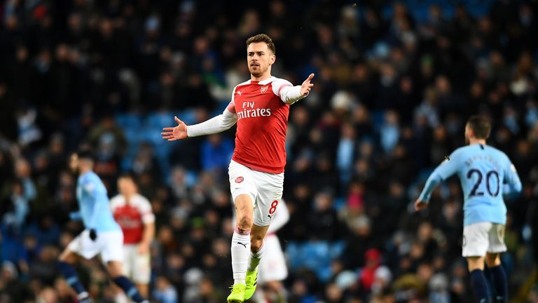 Ramsey will join Juventus with a free transfer on July 1st