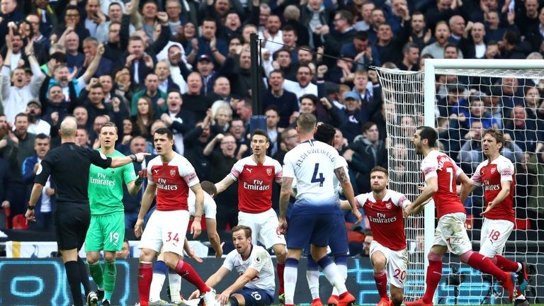 Arsenal picked up four points against Tottenham last season