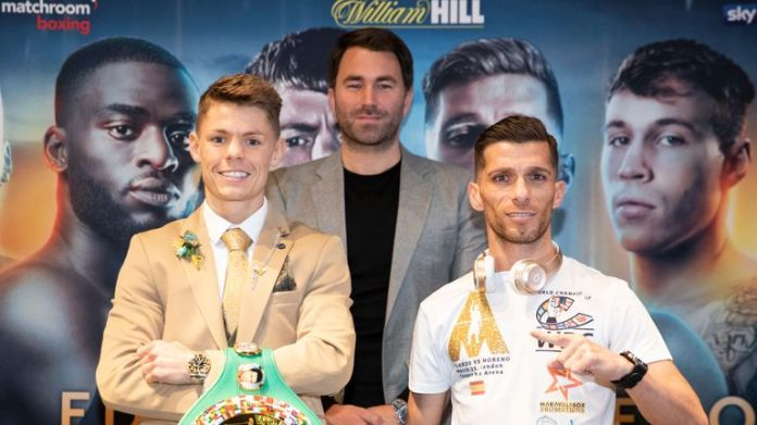 Charlie Edwards defends WBC title against Angel Moreno, live on Sky Sports