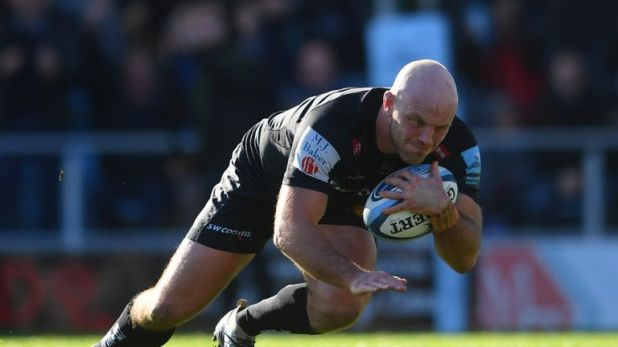 Jack Yeandle was one of four Exeter try scorers as the Chiefs booked a Premiership semi-final spot with victory over Bath