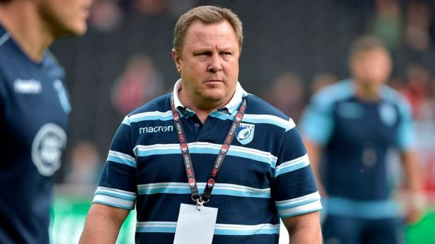 John Mulvihill is delighted to keep Willis Halaholo in Cardiff
