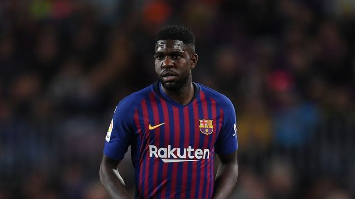 Samuel Umtiti is reported on the radar of the Arsenal this summer