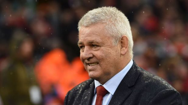 Warren Gatland will lead the British and Irish Lions on a third successive tour