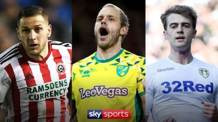 Sheffield United, Norwich and Leeds are all live in Sky Sports Football on Friday