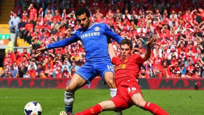 Today's Liverpool star Mo Salah started the game for Chelsea that day