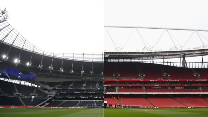 Tottenham's new land will have a capacity of 62,062 - 1,802 more seats than in the Emirates