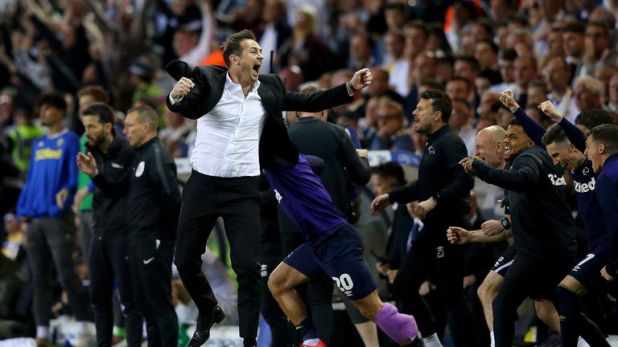 Frank Lampard is going back to Wembley, this time as a manager