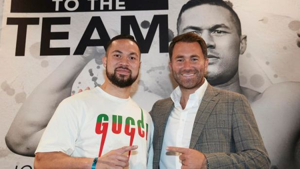 Joseph Parker returns to the ring this month
